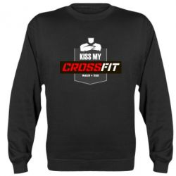 Реглан (свитшот) Kiss my CrossFit - FatLine