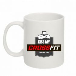 Кружка 320ml Kiss my CrossFit - FatLine