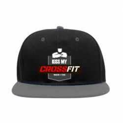 Снепбек Kiss my CrossFit - FatLine