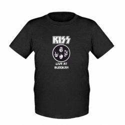 Детская футболка Kiss - FatLine
