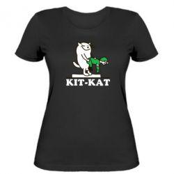Женская футболка Kit-Kat - FatLine
