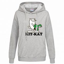 Женская толстовка Kit-Kat - FatLine