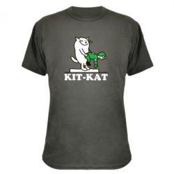 Камуфляжная футболка Kit-Kat - FatLine