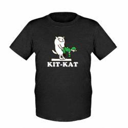 Детская футболка Kit-Kat - FatLine
