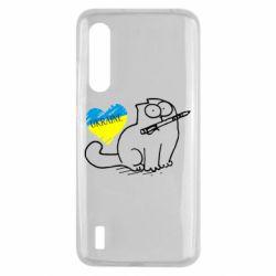 Чехол для Xiaomi Mi9 Lite Кіт-патріот