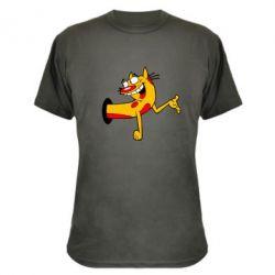 Камуфляжная футболка Кіт - FatLine