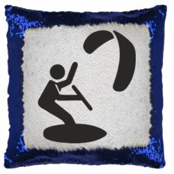 Подушка-хамелеон Kite Logo