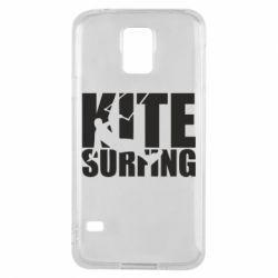 Чохол для Samsung S5 Kitesurfing