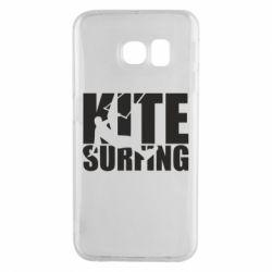 Чохол для Samsung S6 EDGE Kitesurfing