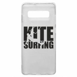 Чохол для Samsung S10+ Kitesurfing