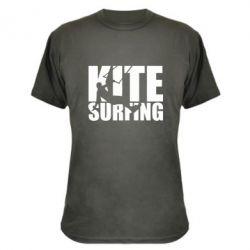 Камуфляжна футболка Kitesurfing