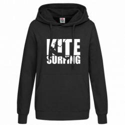 Толстовка жіноча Kitesurfing