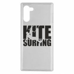 Чохол для Samsung Note 10 Kitesurfing