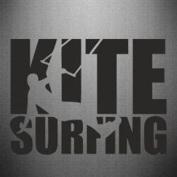 Наклейка Kitesurfing