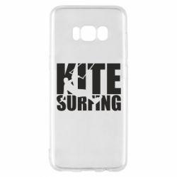 Чохол для Samsung S8 Kitesurfing
