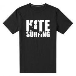 Чоловіча стрейчева футболка Kitesurfing