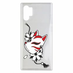 Чехол для Samsung Note 10 Plus Kitsune mask