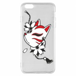 Чехол для iPhone 6 Plus/6S Plus Kitsune mask