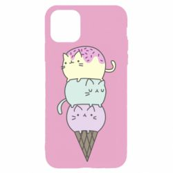 Чохол для iPhone 11 Pro Max Kittens for ice cream