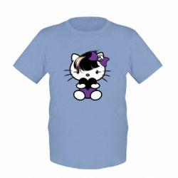 Детская футболка Китти Эмо