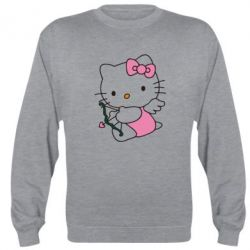 Реглан (свитшот) Kitty амурчик - FatLine