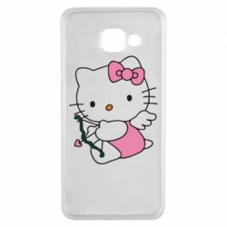 Чехол для Samsung A3 2016 Kitty амурчик - FatLine