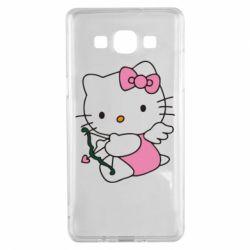 Чехол для Samsung A5 2015 Kitty амурчик - FatLine