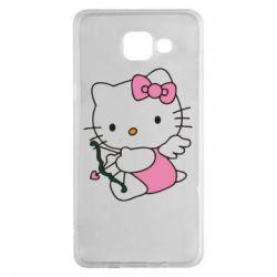Чехол для Samsung A5 2016 Kitty амурчик - FatLine