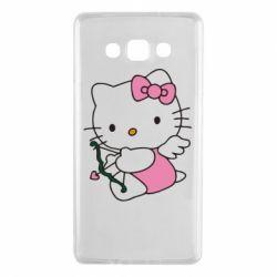 Чехол для Samsung A7 2015 Kitty амурчик - FatLine