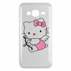 Чехол для Samsung J3 2016 Kitty амурчик - FatLine