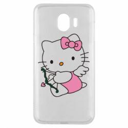 Чехол для Samsung J4 Kitty амурчик - FatLine
