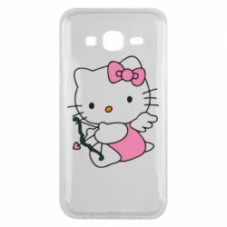 Чехол для Samsung J5 2015 Kitty амурчик - FatLine