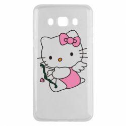 Чехол для Samsung J5 2016 Kitty амурчик - FatLine