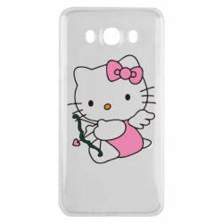 Чехол для Samsung J7 2016 Kitty амурчик - FatLine