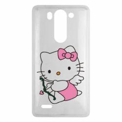 Чехол для LG G3 mini/G3s Kitty амурчик - FatLine
