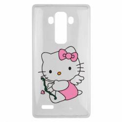 Чехол для LG G4 Kitty амурчик - FatLine