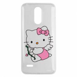 Чехол для LG K8 2017 Kitty амурчик - FatLine