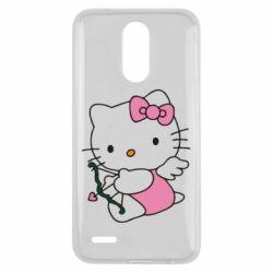 Чехол для LG K10 2017 Kitty амурчик - FatLine