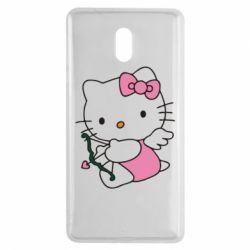 Чехол для Nokia 3 Kitty амурчик - FatLine