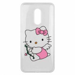 Чехол для Meizu 16 plus Kitty амурчик - FatLine
