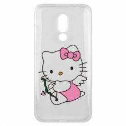 Чехол для Meizu 16x Kitty амурчик - FatLine