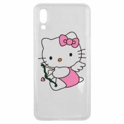 Чехол для Meizu E3 Kitty амурчик - FatLine