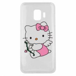 Чехол для Samsung J2 Core Kitty амурчик - FatLine