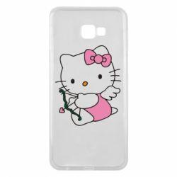 Чехол для Samsung J4 Plus 2018 Kitty амурчик - FatLine
