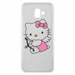 Чехол для Samsung J6 Plus 2018 Kitty амурчик - FatLine