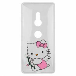 Чехол для Sony Xperia XZ2 Kitty амурчик - FatLine