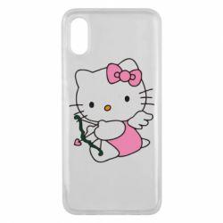 Чехол для Xiaomi Mi8 Pro Kitty амурчик - FatLine