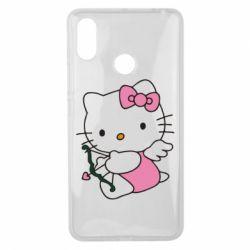 Чехол для Xiaomi Mi Max 3 Kitty амурчик - FatLine