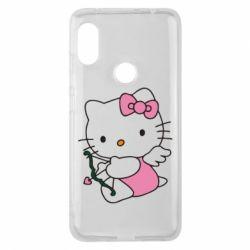Чехол для Xiaomi Redmi Note 6 Pro Kitty амурчик - FatLine