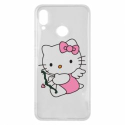 Чехол для Huawei P Smart Plus Kitty амурчик - FatLine